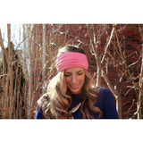 Watermelon Pink Tapered Headband - Beautifull Boundaries