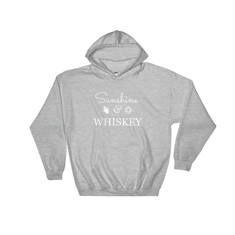 Sunshine & Whisky Hooded Sweatshirt