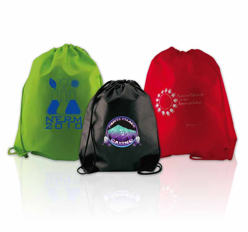 Nonwoven PP Cynch Backpacks