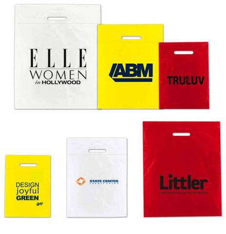 Low Density Fold Over Die Cut Bags
