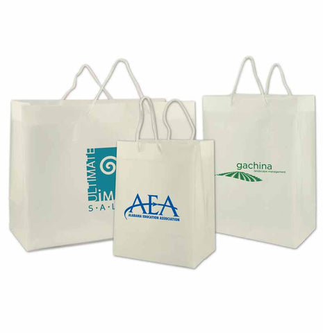 Clear Frosted Eurotote Bags