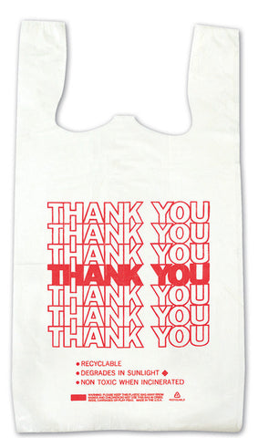 Economy Thank You T-Shirt Bags