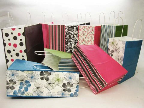 Printed Paper Shopping Bags
