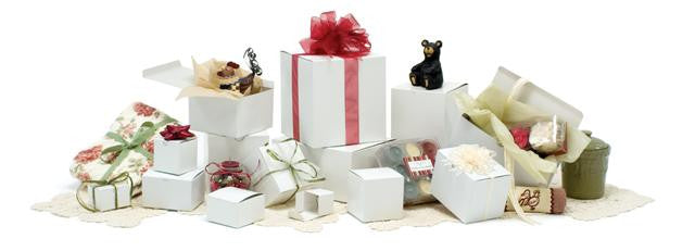 Glossy White Gift Boxes
