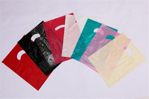 Kidney Die Cut Handle Bags