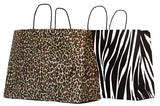 Animal Print Paper Shopping Bags