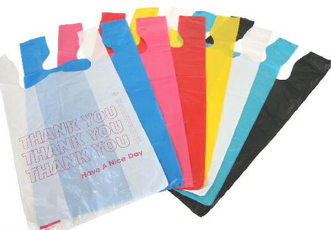Colors High Density T-shirt Bags