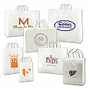 Frosted Soft Loop Handle Bags