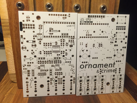 Ornament & Crime PCB