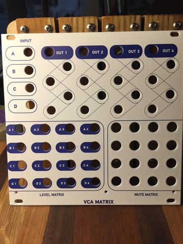 4ms - VCA Matrix Panel