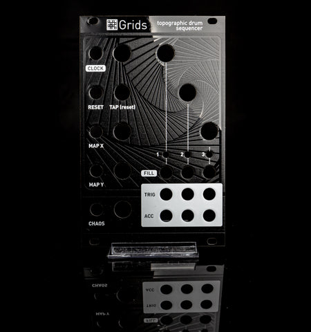 Mutable Instruments: Grids Panel