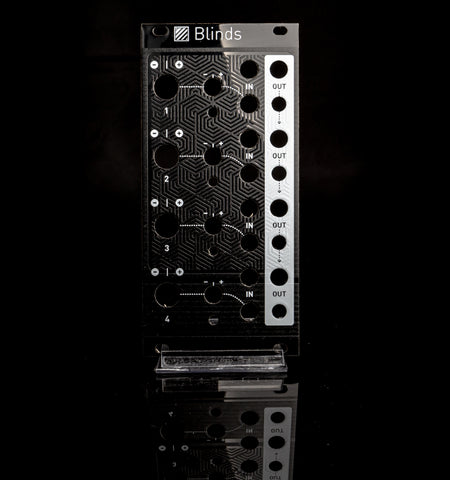 Mutable Instruments: Blinds Panel