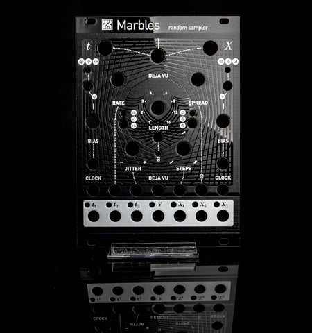 Mutable Instruments: Marbles Panel