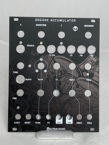Neutron Sound: Orgone Accumulator - DIY Panel