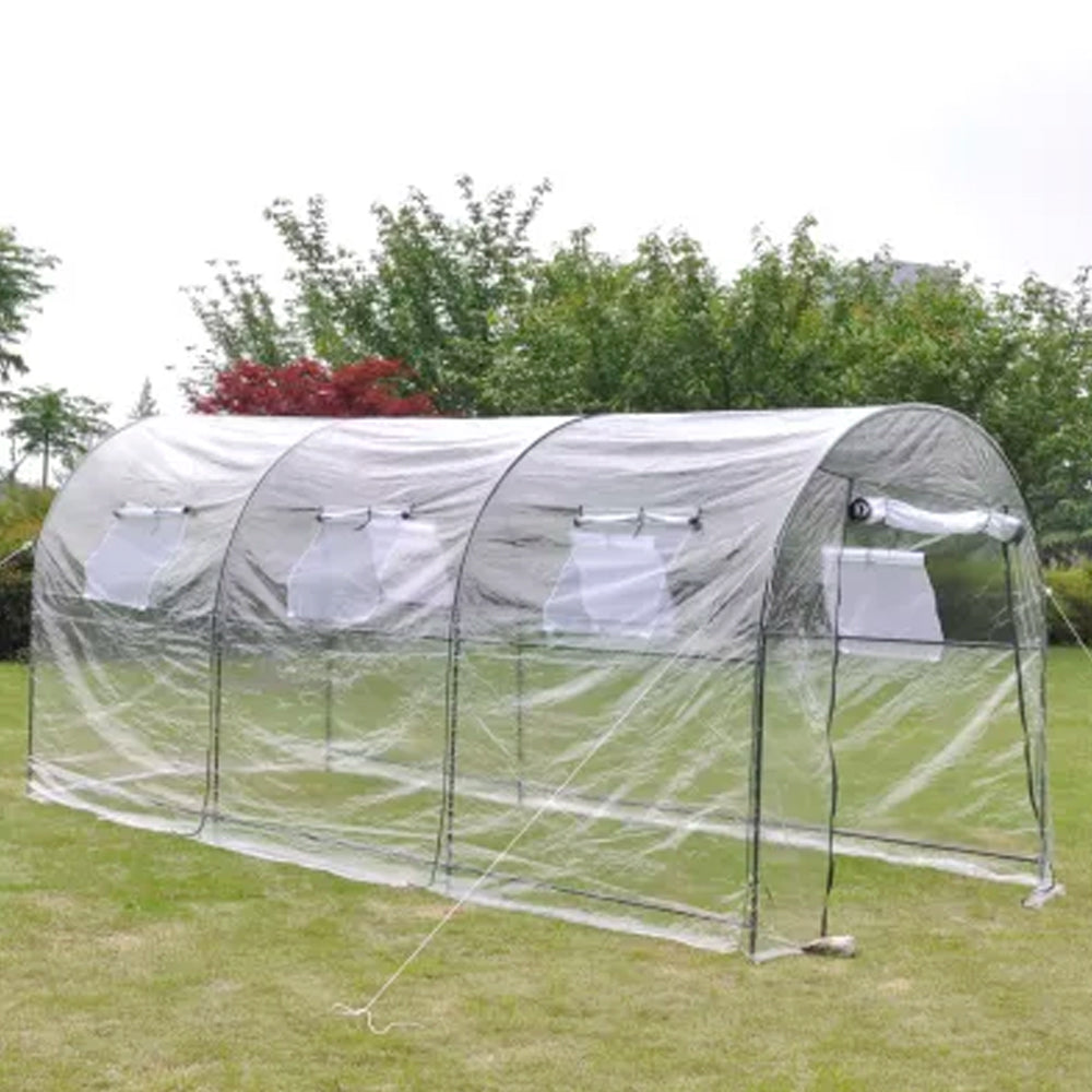 Portable Greenhouse Walk-in Hot House/Cold Frame - Deluxe Home Delight