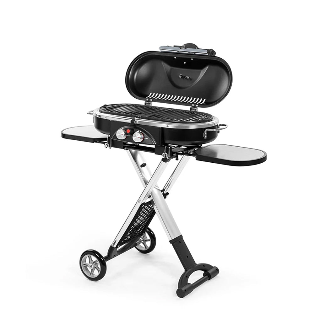 Grill Portable Stand-up Propane Gas Outdoor Camping Stoves BBQs Picnic Road Trip - Deluxe Home Delight