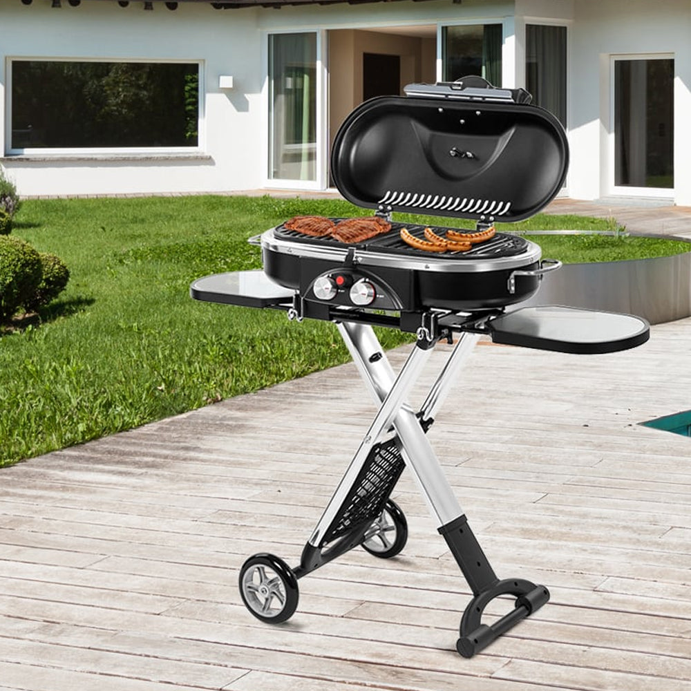 Gasmate Voyager Portable Gas Bbq Review welcome autumn fun & enjoyment - deluxe home delight