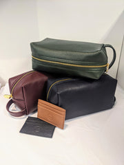 Leather Washbags