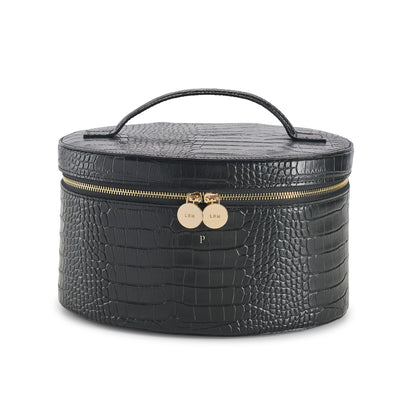 NEW! Leather Croc Vanity Case - LRM