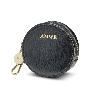Leather Round Coin Purse - Mini Rosie - LRM Goods