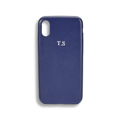 Personalised Leather Phone Case - LRM