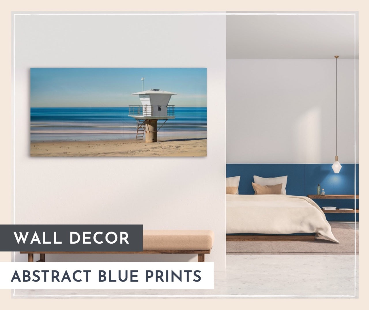 Wall Decor: Abstract Blues