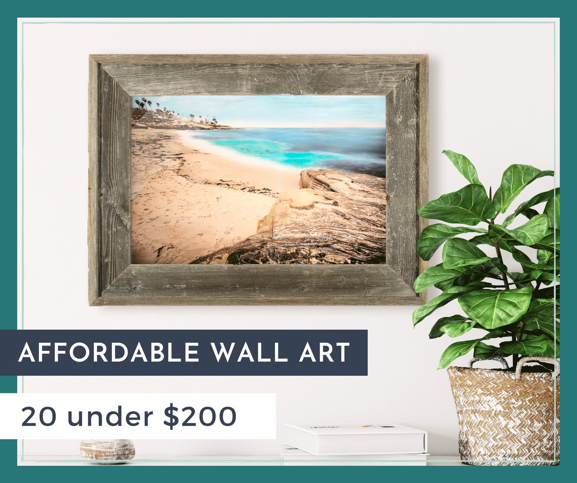 Affordable Wall Art Roundup: 20 Under $200