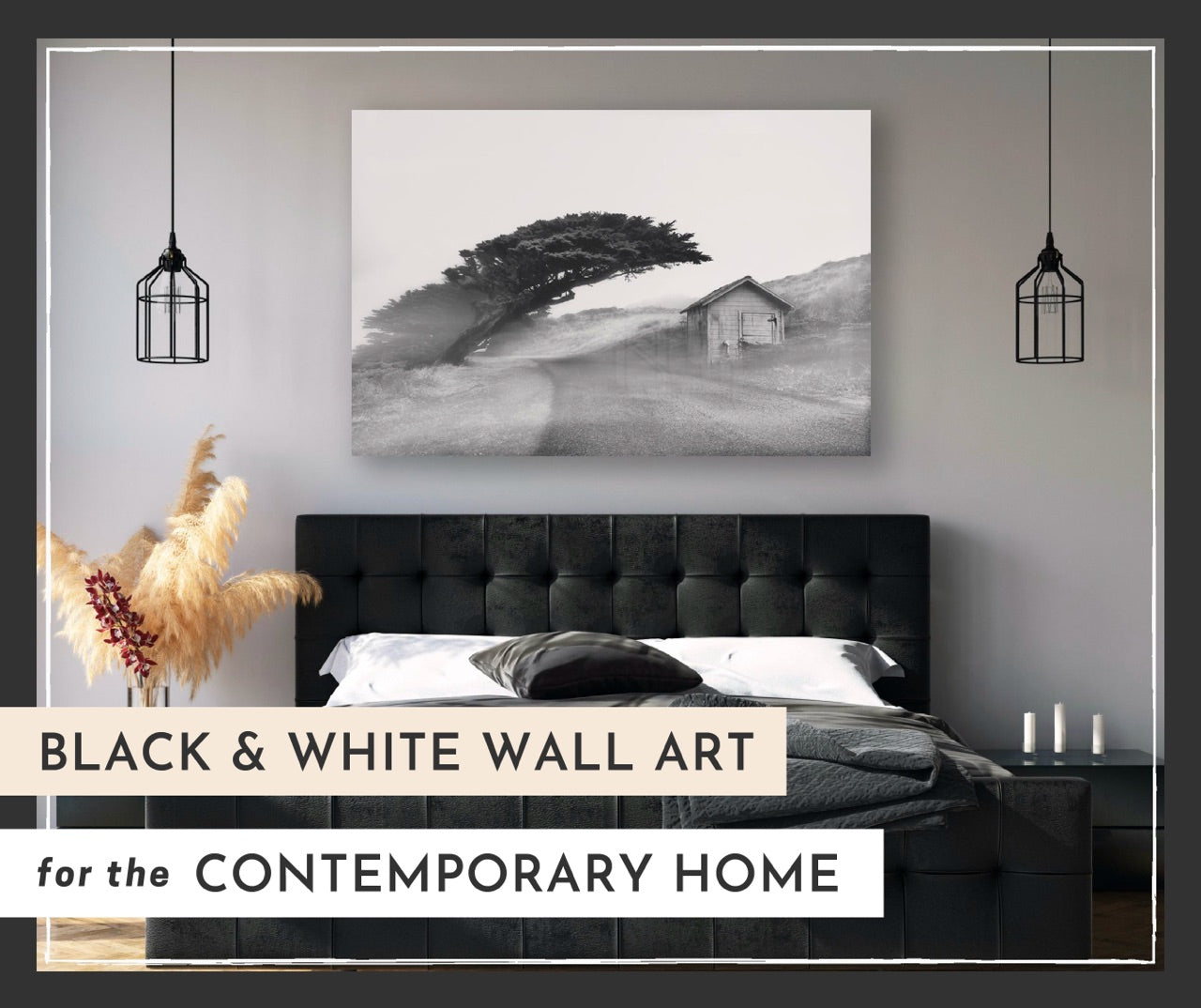 Black and White Wall Art for the Contemporary Home