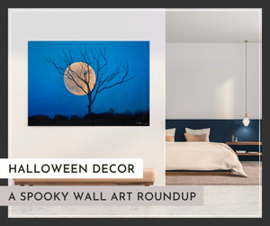 Halloween Decor: A Spooky Wall Art Roundup