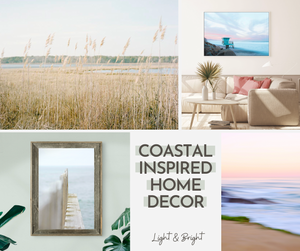 Coastal Inspired Wall Art:
