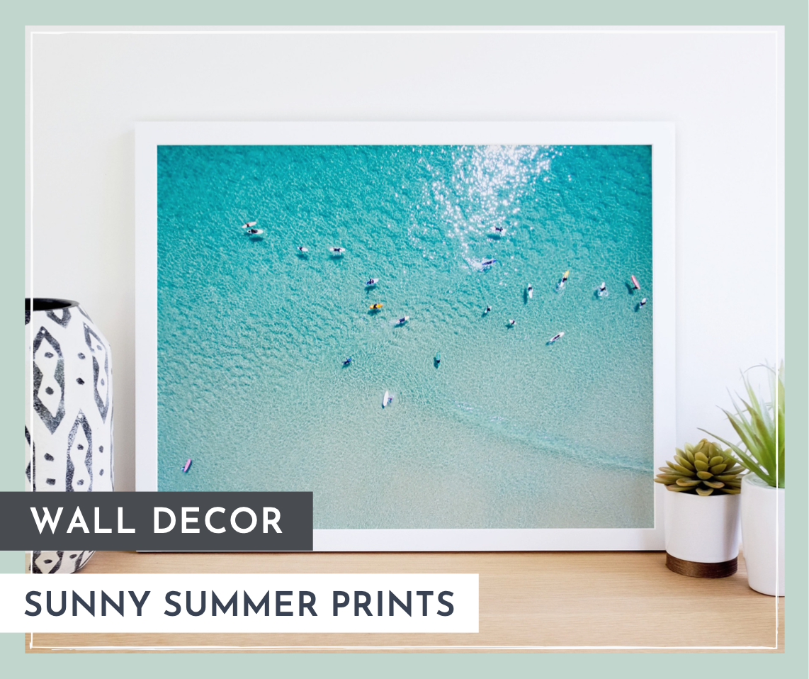 Wall Art: Sunny Summer Prints