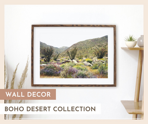 Wall Decor: Boho Desert