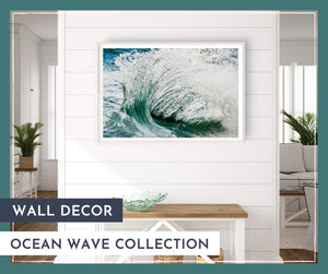 Wall Decor: Ocean Waves