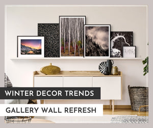 Winter Decor Trends: Gallery Wall Refresh