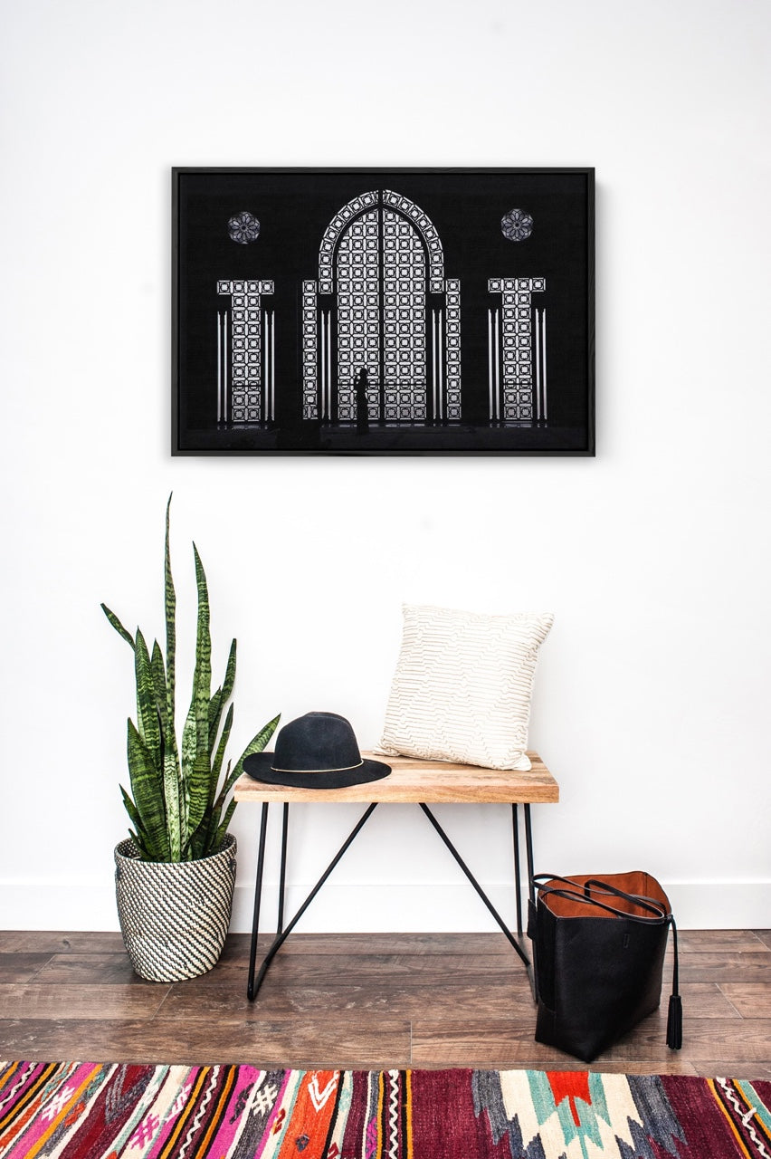 Framed Architecture Wall Art