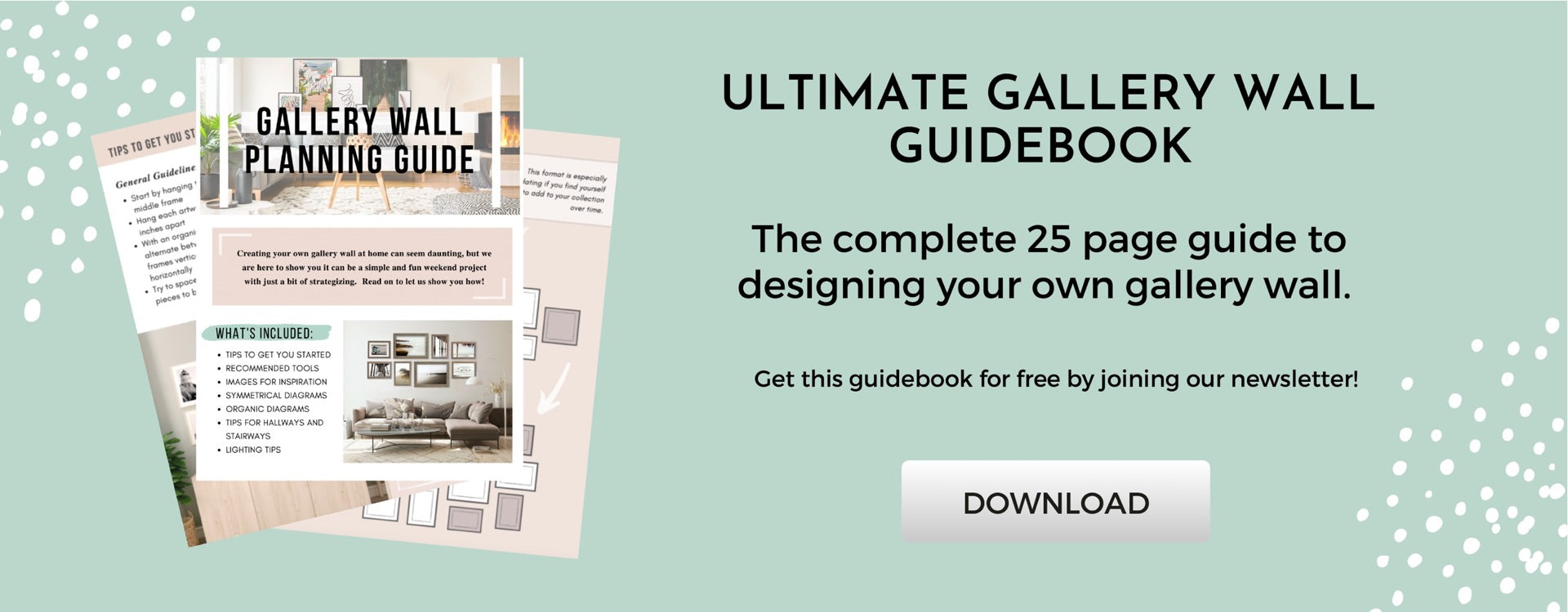 Download Gallery Wall Planning Guide
