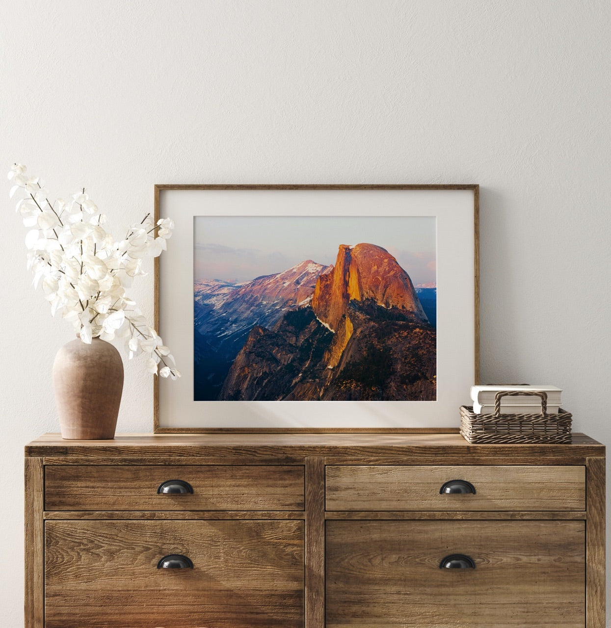 Framed Photograph of Half Dome Yosemite