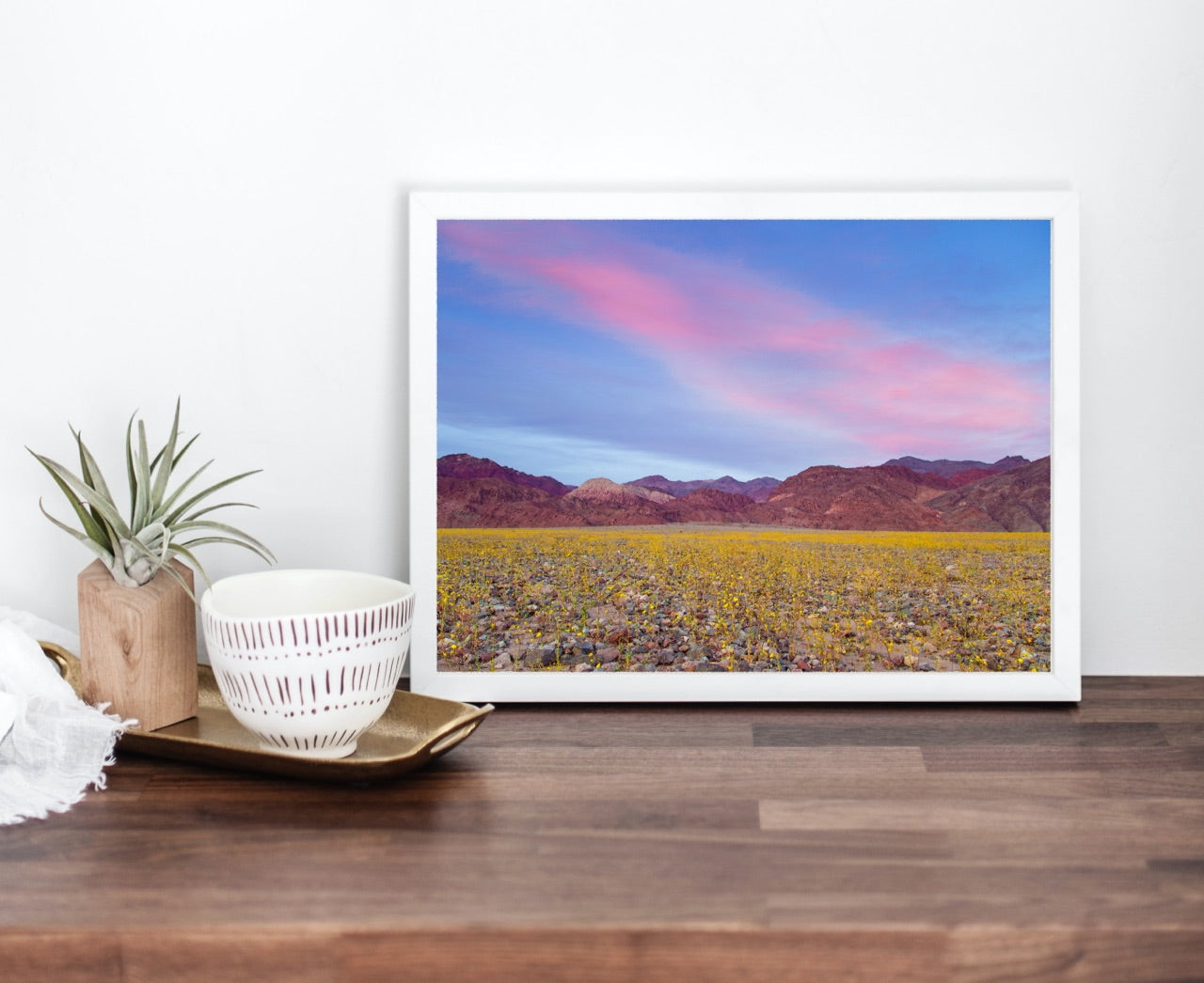 Death Valley Matted Print