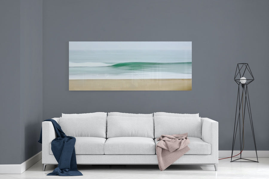 Abstract Coastal Ocean Photo Wall Art