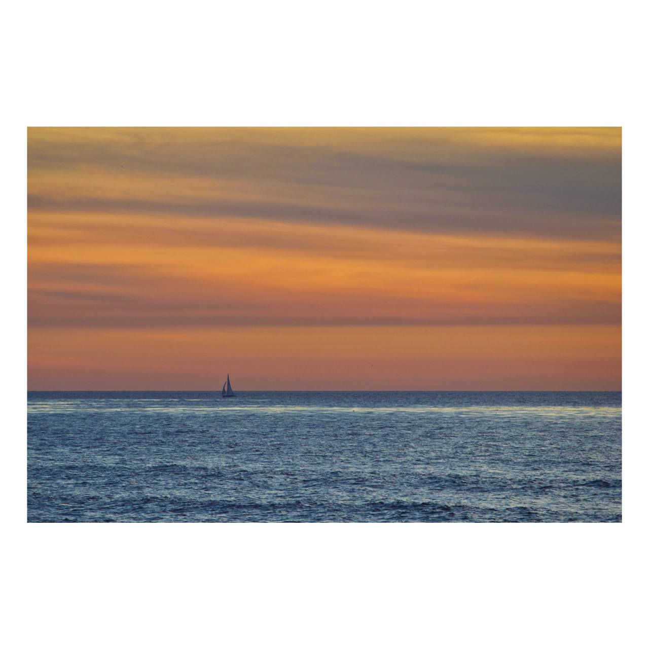 "Fine Art Prints - ""Alone In The Sunset"" 