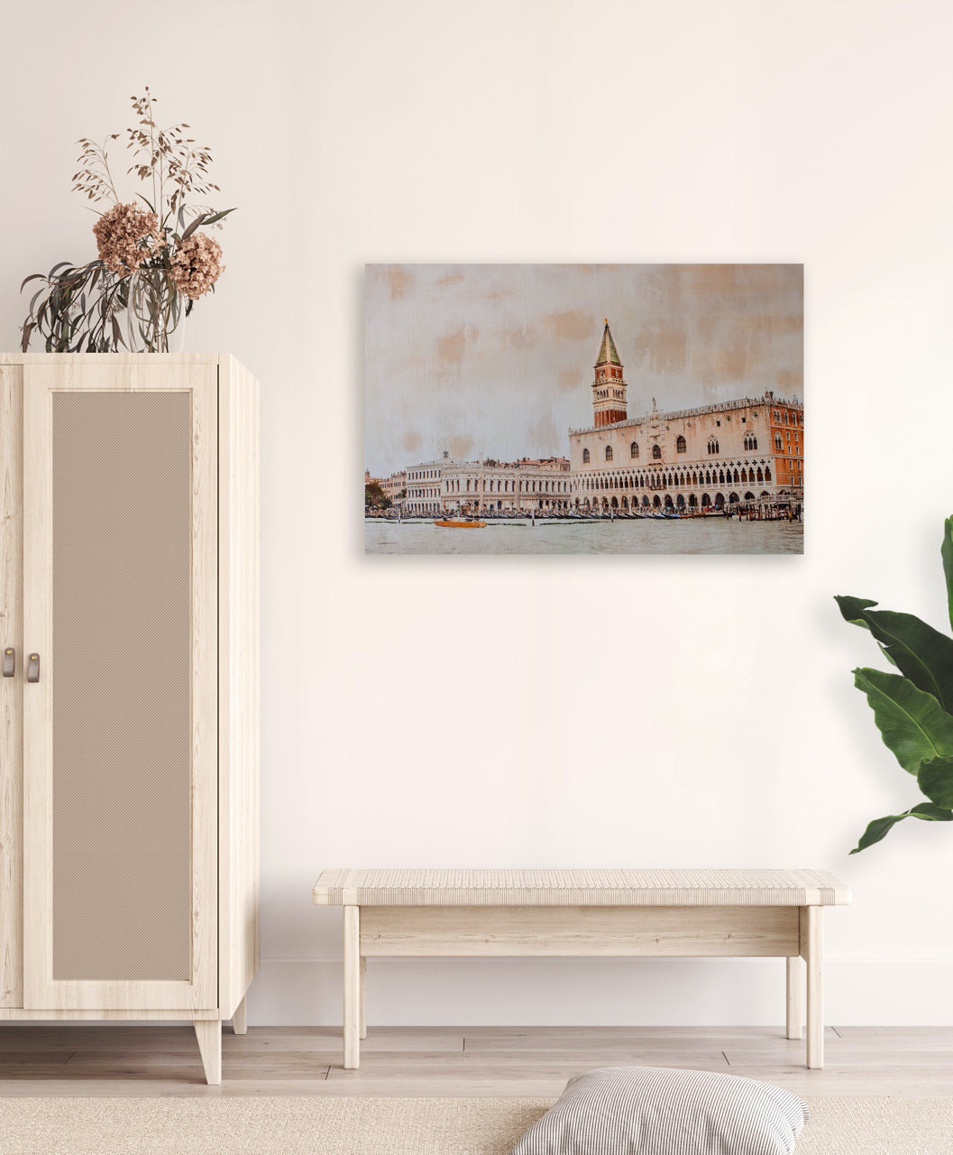 Fine Art Prints - Approaching Venice For The First Time