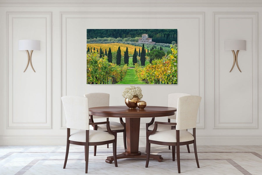 "Fine Art Prints - ""Autumn In Chianti"" 