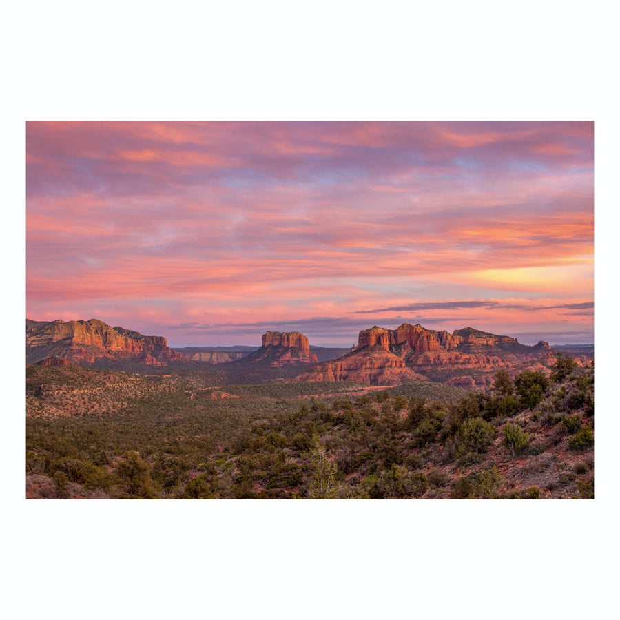 "Fine Art Prints - ""Bell Rock At Sunset"" 