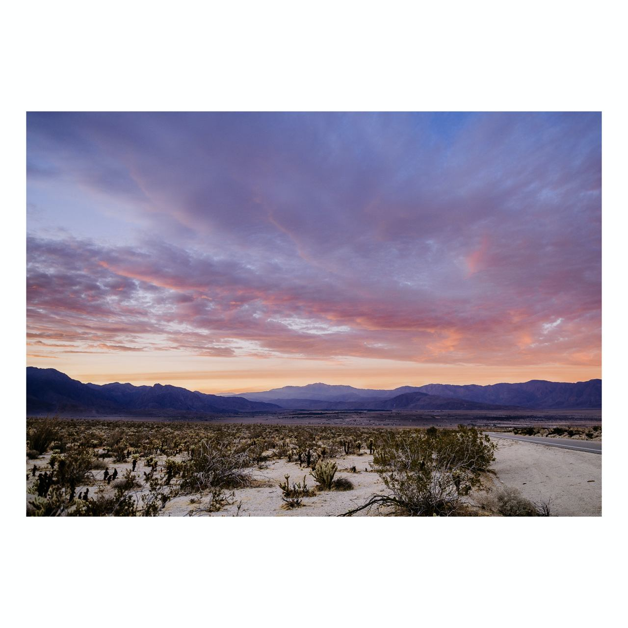 "Fine Art Prints - ""Borrego Springs State Park"" 