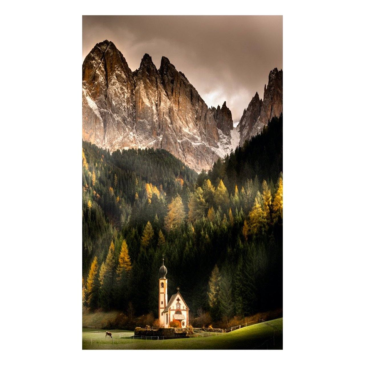 "Fine Art Prints - ""Chapel In The Meadow"" 