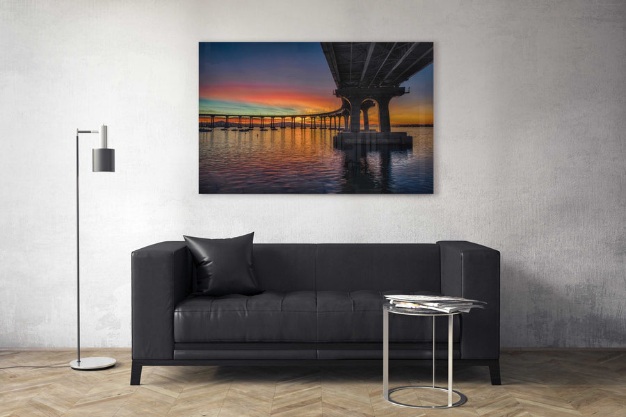 "Fine Art Prints - ""Coronado Bridge Sunrise"" 