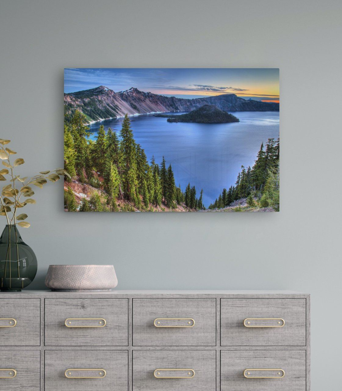 "Fine Art Prints - ""Dawn At Crater Lake"" 