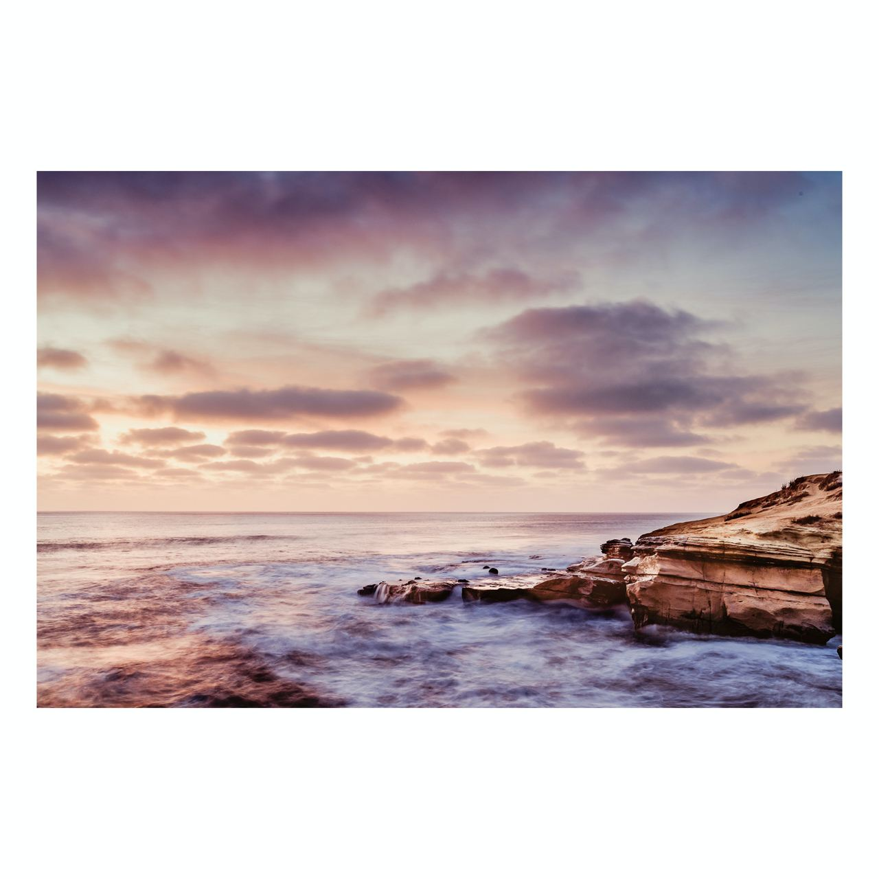 "Fine Art Prints - ""Dreamy Sunset Cliffs"" 