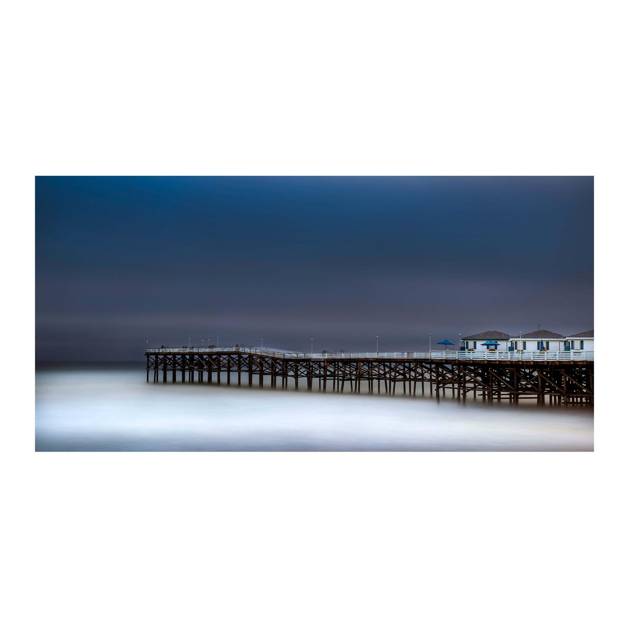 "Fine Art Prints - ""Evening Stroll On The Pier"" 