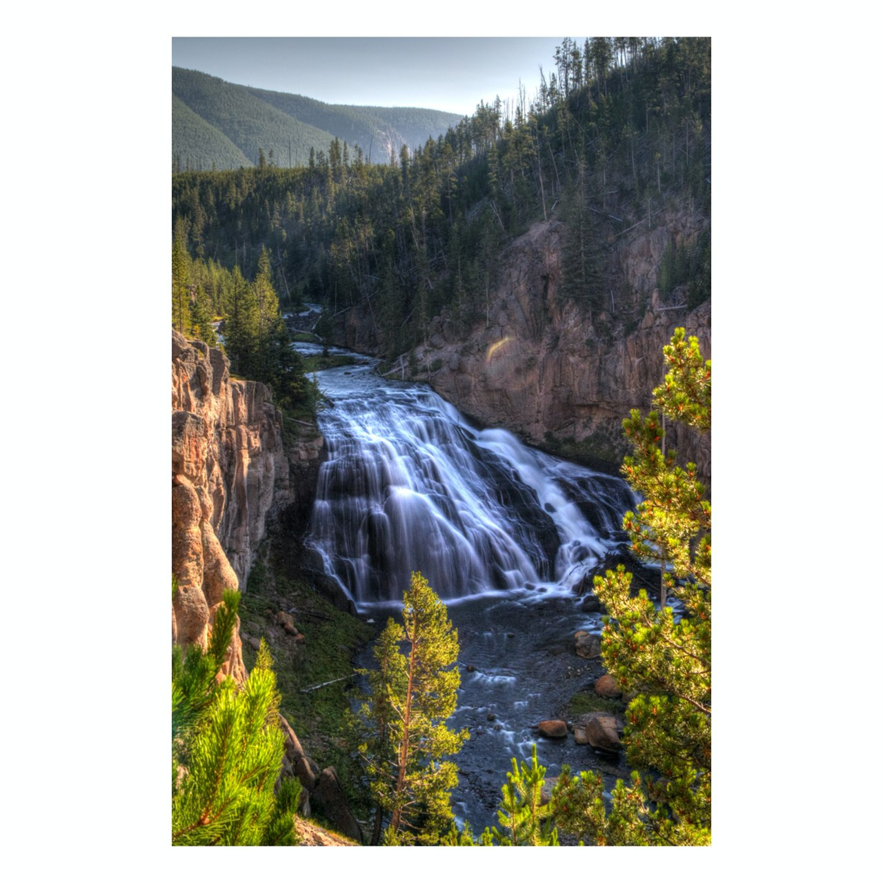 "Fine Art Prints - ""Gibbon Falls"" 